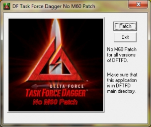 DFTFD No M60 Patch