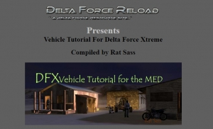 DFX Vehicle Tutorial