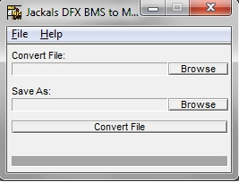 DFX / Joint Operations BMS 2 MIS Converter