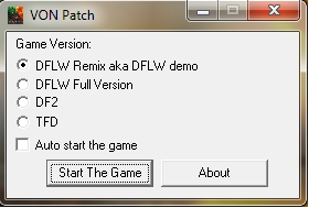 DF2  / DFLW/ DFTFD VON Disable Patch