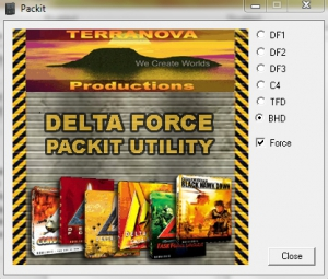 Delta Force PackIt Utility