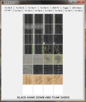 BHD / BHDTS Tile Tool, Fogger & 3ds Viewer