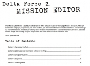 DF2 Mission Editor Manual