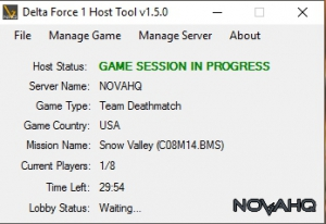 DF1 Host Tool, Server Stats, Mission Manager, Auto Messenger, Vote