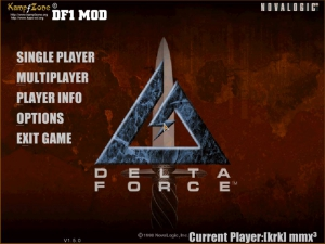 Delta Force 1 Mod for Blank Hawk Down