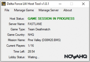 DFLW Host Tool, Server Stats, Mission Manager, Auto Messenger, Vote