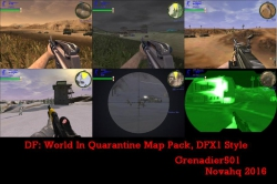 World In Quarantine DFX1 style map pack