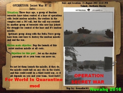 Operation: Secret War - WIQ