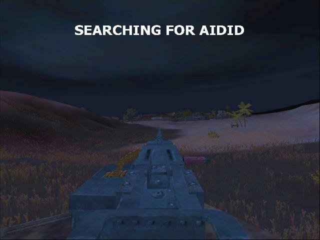Searching for Aidid