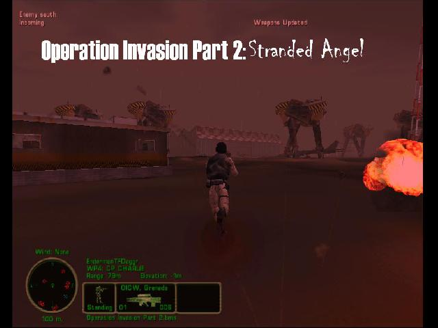 Operation Invasion Part 2: Stranded Angel