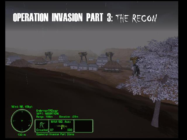 Operation Invasion Part 3: The Recon